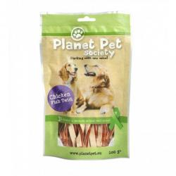 Planet Pet Snack Twist Pollo y Pescado 100g