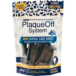PlaqueOff Mini Dental Care Bones de Arándanos 340g