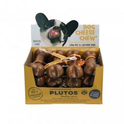 Plutos Hueso Natural Queso y Ternera S