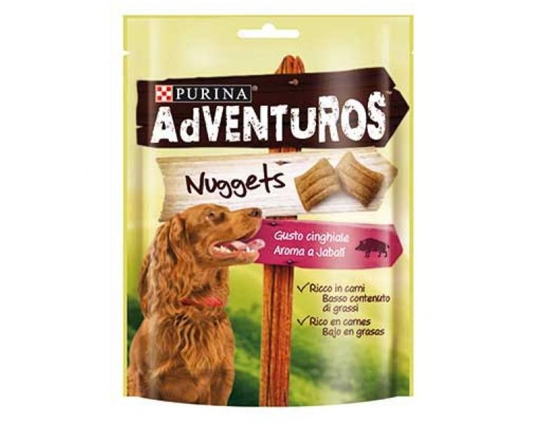 Purina Adventuros Nuggets Jabalí 90g