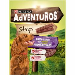 Purina Adventuros Strips Venado 90g