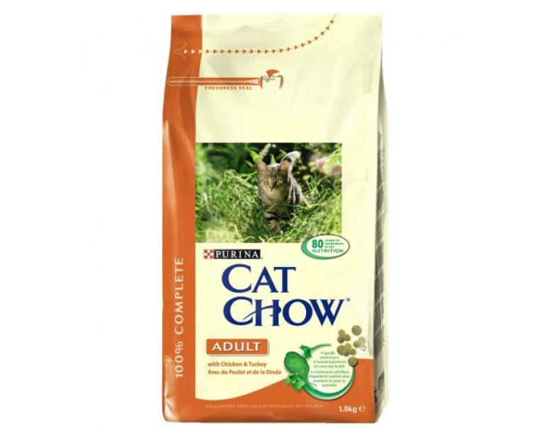 Purina Cat Chow Adult Pollo & Pavo 1.5 kg