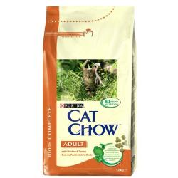 Purina Cat Chow Adult Pollo & Pavo 15 kg