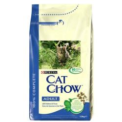 Purina Cat Chow Adult Salmón & Atún 1.5 kg