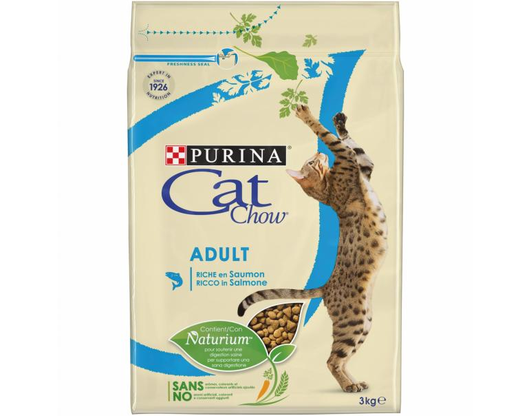 Purina Cat Chow Adult Salmón & Atún 3 kg