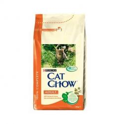 PACK AHORRO Purina Cat Chow Adulto Pollo y Pavo 2 x 15 Kg