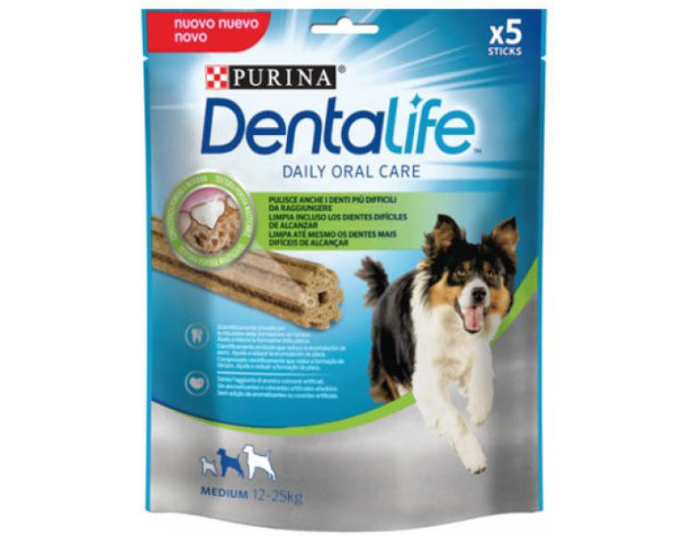 Purina Dentalife Snacks para Perros Razas Medianos 115g