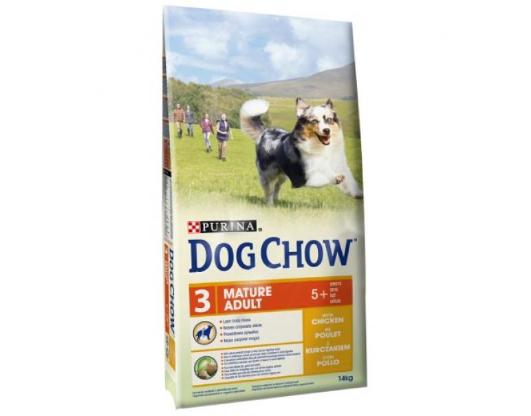 Purina Dog Chow Mature Adult Pollo 14 kg (Descatalogado)