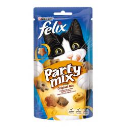 PACK AHORRO Purina Felix Party Mix Gatos 8x60g