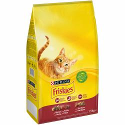 Purina Friskies Adult Gato Buey 1.5 kg