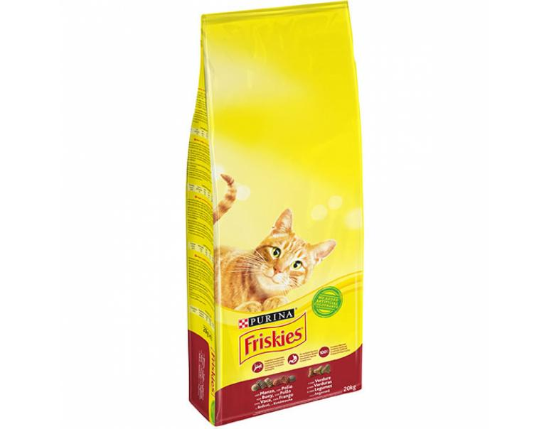 Purina Friskies Adult Gato Buey 20 kg
