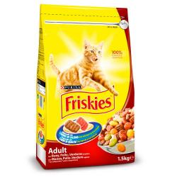 Purina Friskies Adult Gato Buey 4 kg