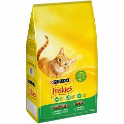 Purina Friskies Adult Gato Conejo Pollo 1,5Kg