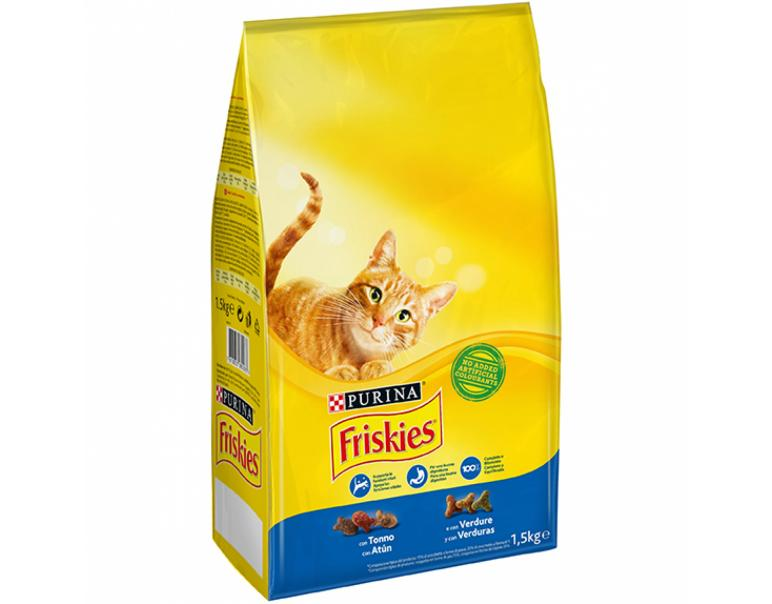 Purina Friskies Cat Atún/Verdura 6x1.5kg