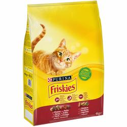 Purina Friskies Cat Buey/Pollo/Verdura 4x4kg