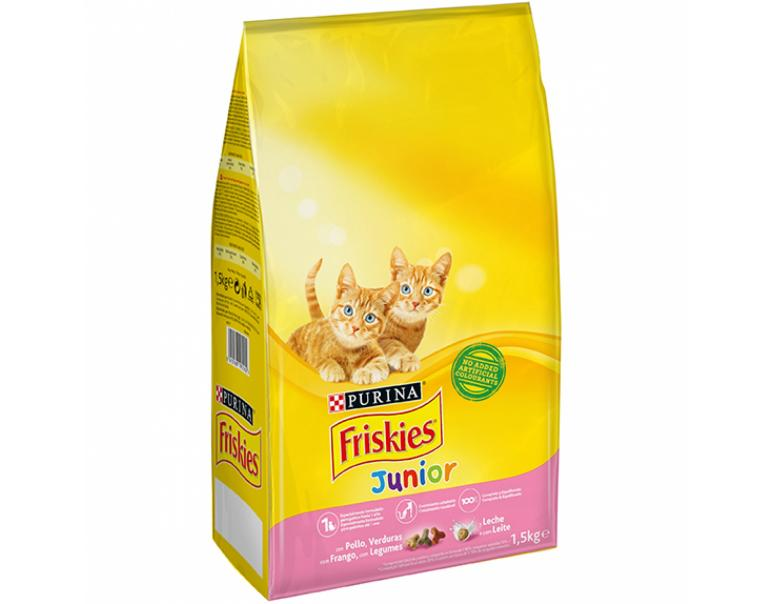 Purina Friskies Gato Junior Pollo 1.5 kg