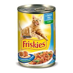 PACK AHORRO Purina Friskies Salmón Gatos 24x400g