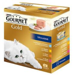Purina Gold Pack Mousses 12x8x85g