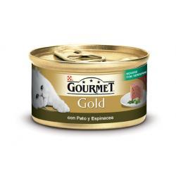 PACK AHORRO Gourmet Gold Pato y Espinacas Mpusse 24x85gr