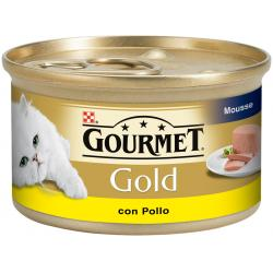 Purina Gourmet Gold Mousse con Pollo 85g