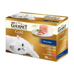 Gourmet Gold Multipack 4 sabores 8+4 x 85g