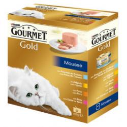 Purina Gourmet Gold Multipack 4 sabores 8 x 85g