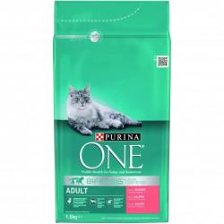 Purina One Gato Adulto Salmón-Cereales 1,5kg