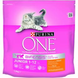 Purina One Gato Junior Pollo-Cereales 1,5kg