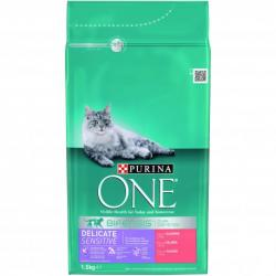 Purina One Gatos Digestión Sensible Salmón y Arroz