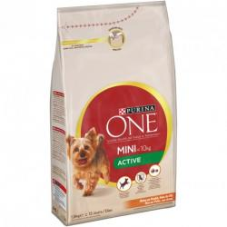 Purina One Mini Active Pollo y Arroz Saco de 1,5kg