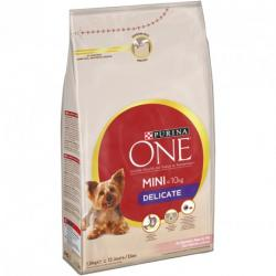 Purina One Mini Delicate Salmón y Arroz 1,5kg