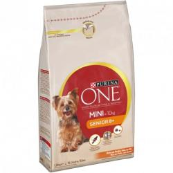 Purina One Mini Senior 8+ Pollo y Arroz Saco de 1,5kg