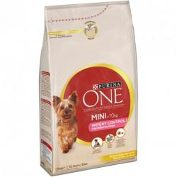 Purina One Mini Weight Control Pavo y Arroz Saco de 1,5kg