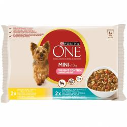 Purina One Weight Control MultiVariedad 4x100g