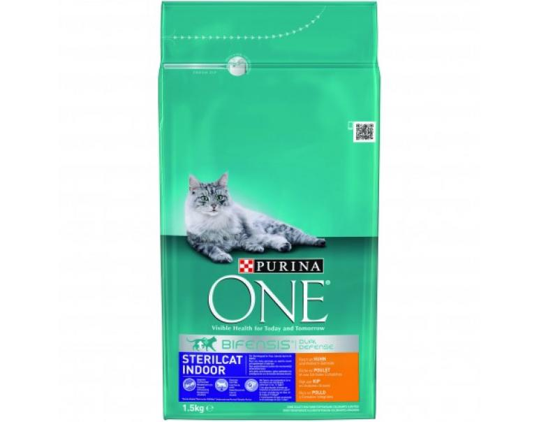 Purina Ones Gatos Esterilizados Pollo y Cereales 1,5kg