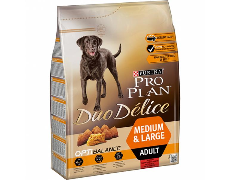 Purina Pro Plan Duo Délice Adult Buey 2.5 kg