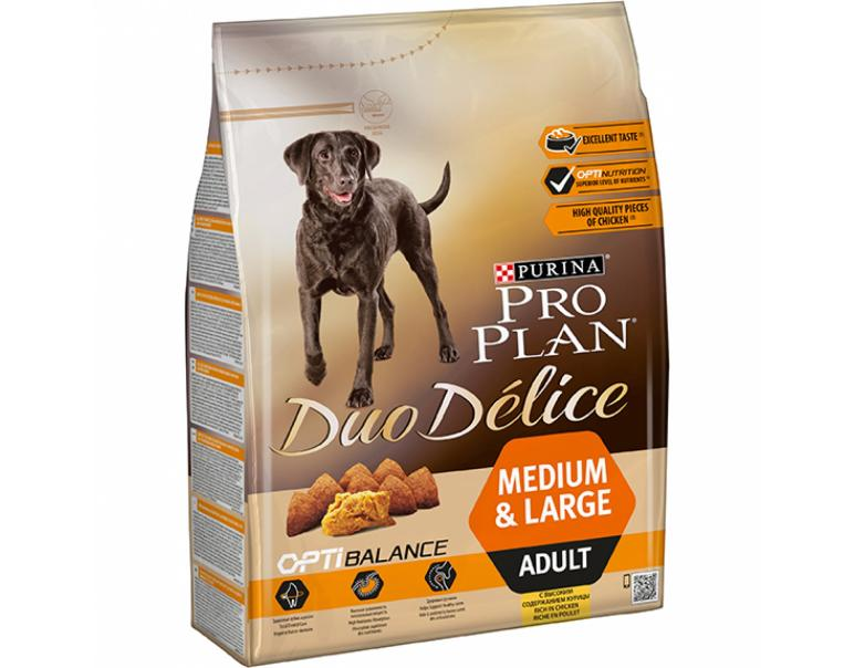 Purina Pro Plan Duo Délice Medium Adult Pollo 2,5Kg