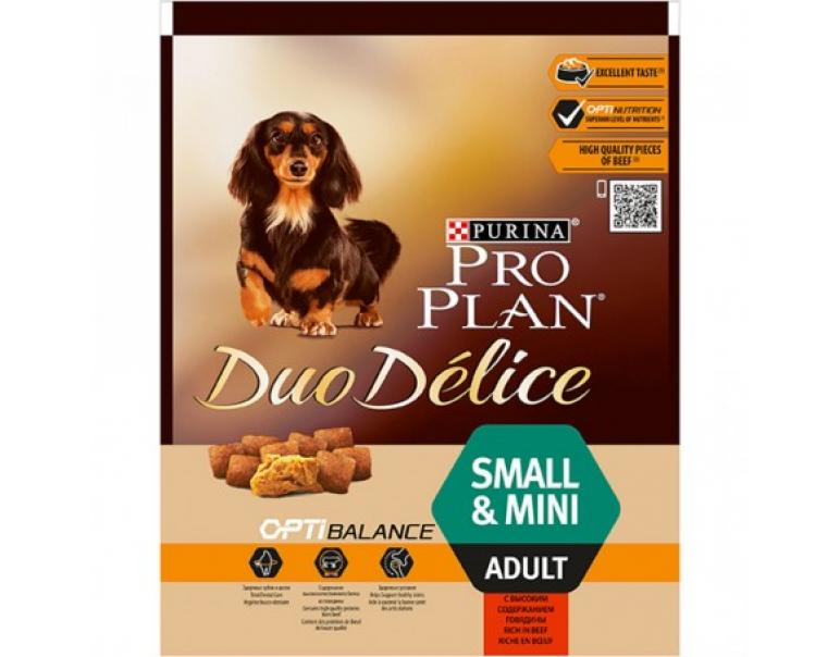 Purina Pro Plan DuoDelice Small Buey 2,5kg