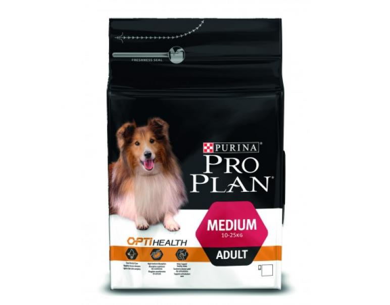 PACK AHORRO Purina OptiHealth Adulto Raza Mediana Pollo 2 x 14 Kg