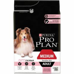 Pro Plan Adult Optiderma Medium Sensitive Skin 3 kg