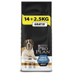 Purina Pro Plan Optihealth Adulto Raza Grande Robusto 14kg + 2.5kg