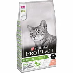 Purina Pro Plan Optirenal Sterilised Salmón 10 kg
