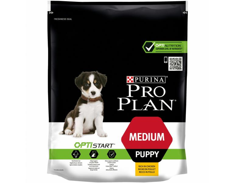 Purina Pro Plan Puppy OptiStart Medium 800 g