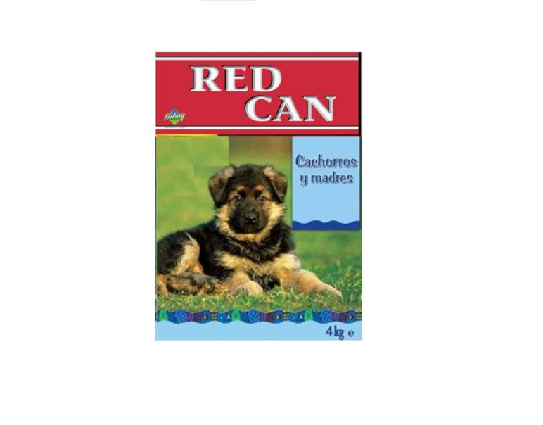 Red Can Comida Perros Cachorros/Madres 4 Kg