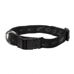Rogz Collar Everest Negro XL 2,5 x 43-70 cm
