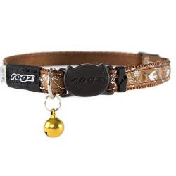 Rogz Collar Silkycat Marrón