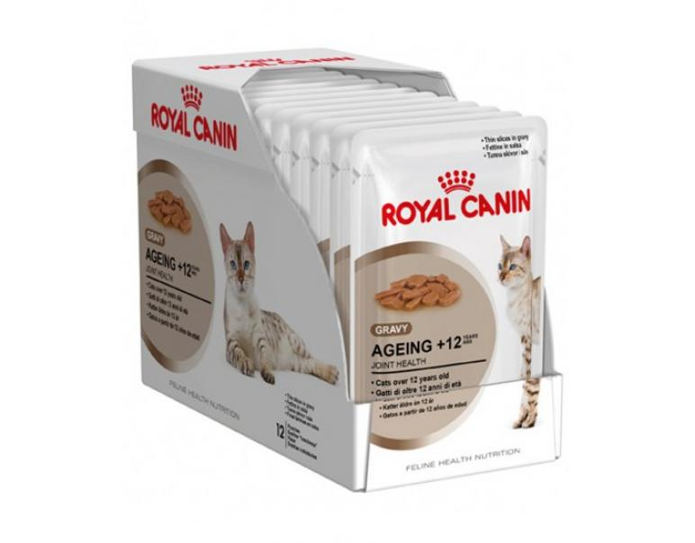 PACK AHORRO Royal Canin Ageing +12 12x85gr