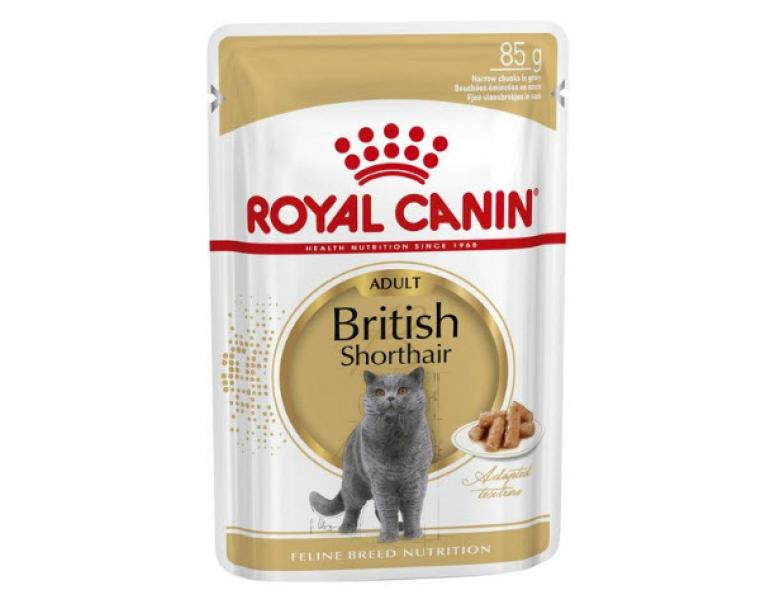 Royal Canin British Shorthair Comida Húmeda 85g