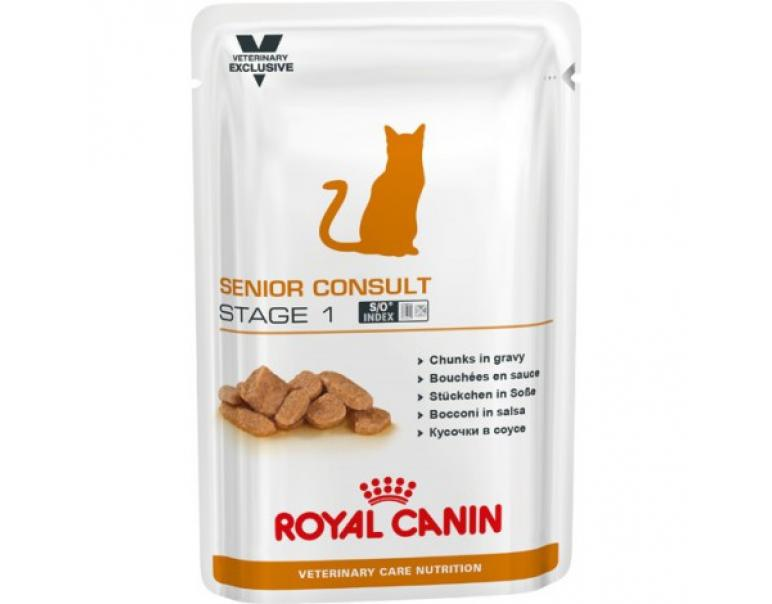 Royal Canin Feline Senior Consult Stage 1 100g