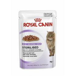 Royal Canin Feline Sterilised Gelatina 85g